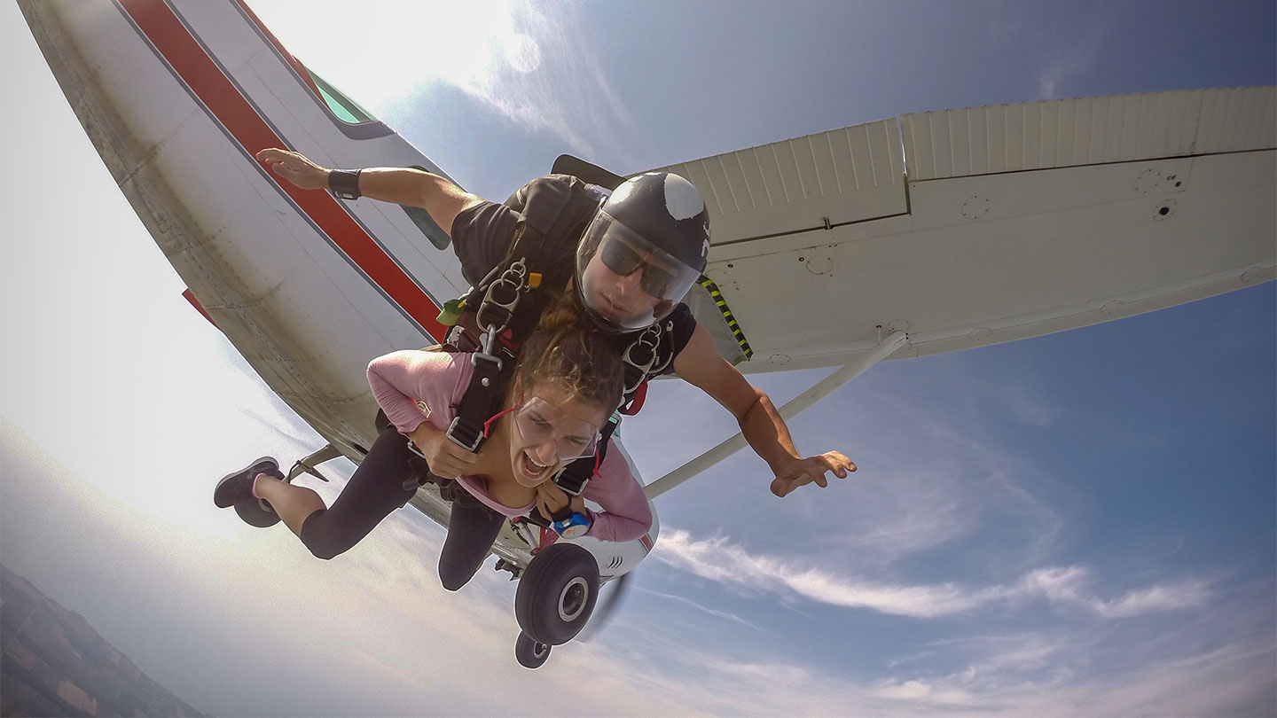 Skydive Ontario First Jump