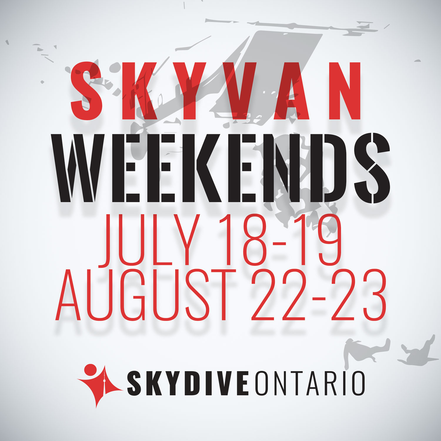 Skydive Ontario Skyvan Weekend 2020