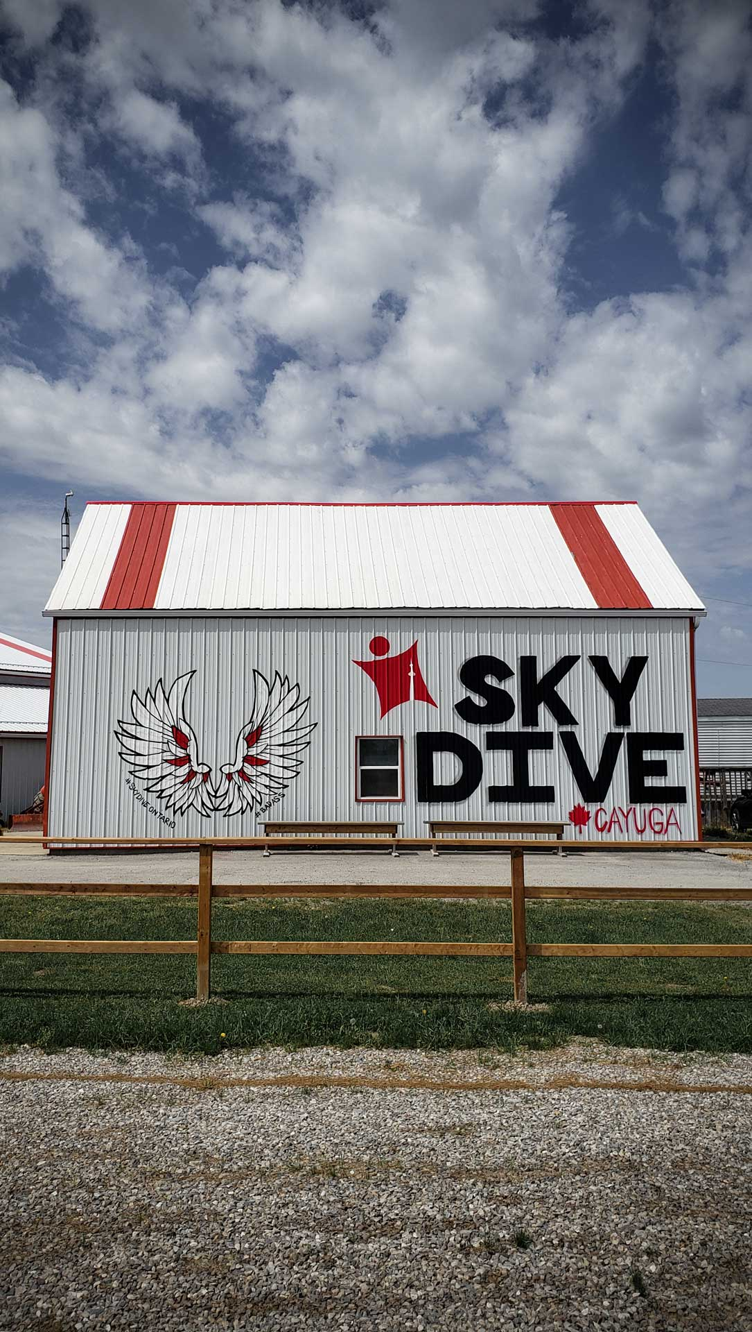 Skydive Ontario Skydive Sign